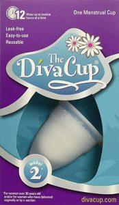 Diva Cup Menstrual Cup - Model 2