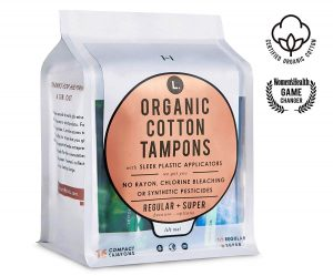 L. Organic Cotton Tampons