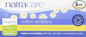 Natracare Organic Regular Tampons