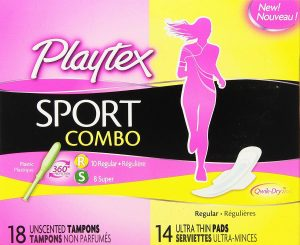 Playtex Sport Combo Pack