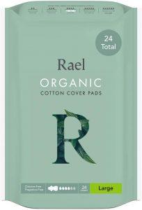 Rael Certified Organic Cotton Large Pads