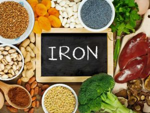 Eat iron-rich foods