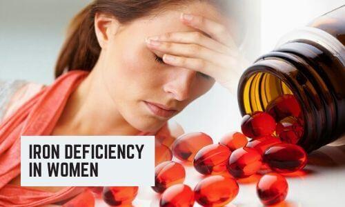 Iron Deficiency in Women